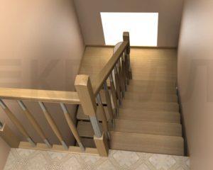 Площадка для лестницы