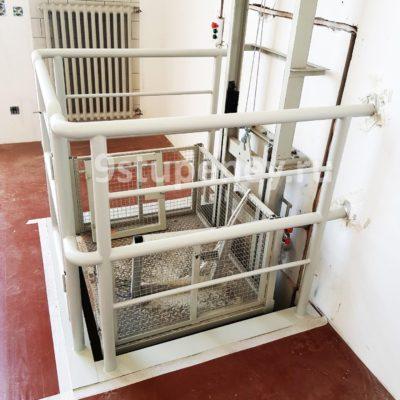 Техническая лестница в подвал (10)
