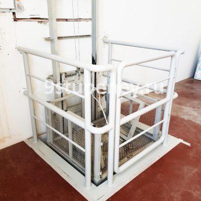 Техническая лестница в подвал (11)