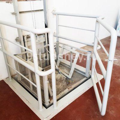 Техническая лестница в подвал (12)