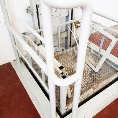Техническая лестница в подвал (13)