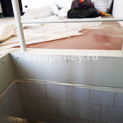 Техническая лестница в подвал (14)