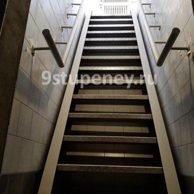 Техническая лестница в подвал (3)