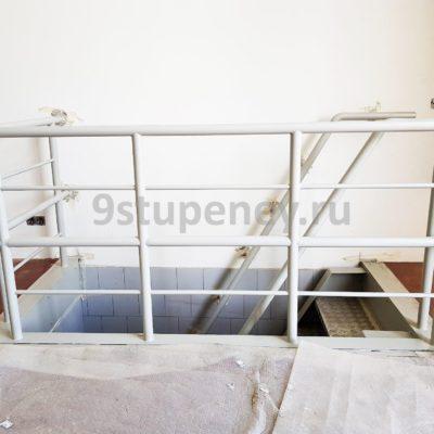 Техническая лестница в подвал (7)